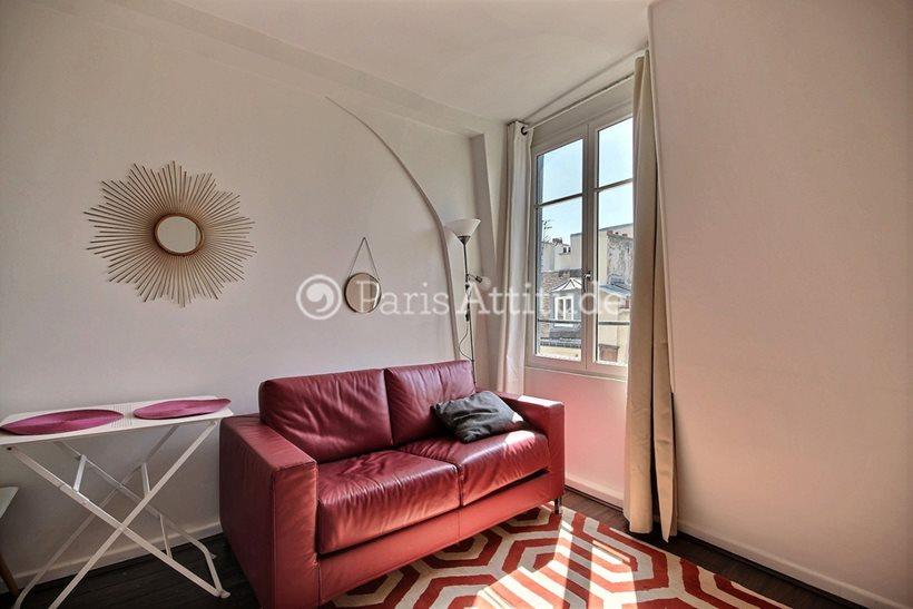 Rent furnished Apartment Studio 17m² rue d Aboukir, 75002 Paris