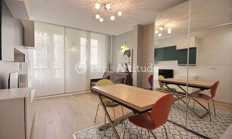 Rent Apartment Studio 26m² avenue Franklin D. Roosevelt, 94300 Vincennes