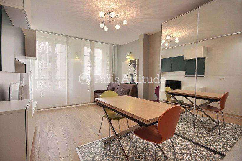 Rent furnished Apartment Studio 26m² avenue Franklin D. Roosevelt, 94300 Vincennes