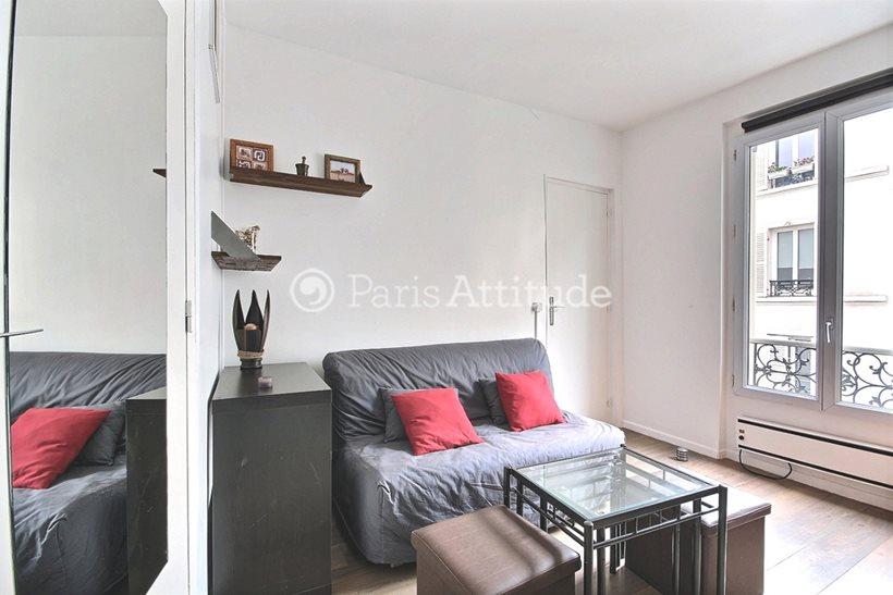 Rent furnished Apartment 1 Bedroom 29m² rue Davy, 75017 Paris