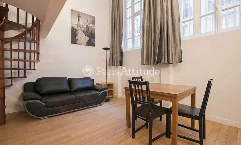 Aluguel Duplex 1 quarto 43m² rue Portefoin, 3 Paris