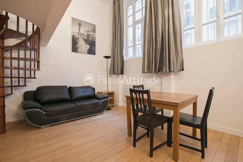 Louer Duplex meublé 1 Chambre 43m² rue Portefoin, 75003 Paris