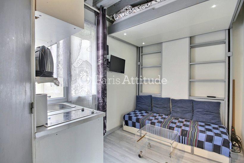 Rent furnished Apartment Studio 12m² rue des Deux Ponts, 75004 Paris
