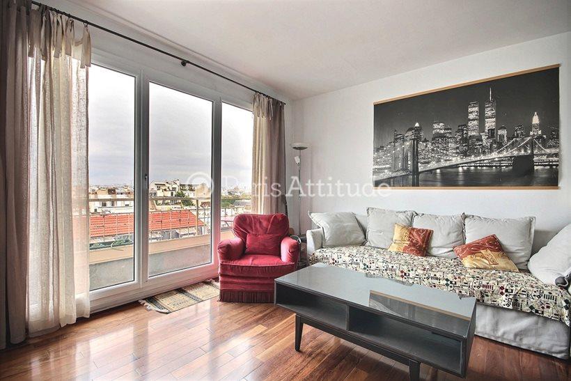 Rent furnished Apartment 2 Bedrooms 68m² avenue du Maine, 75015 Paris