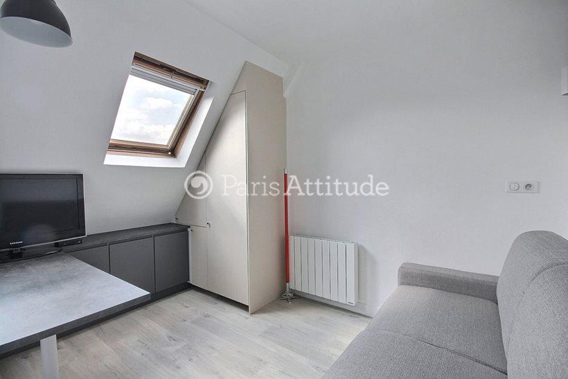Rent furnished Apartment Studio 12m² rue Gustave Zede, 75016 Paris