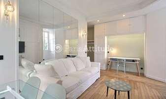 Rent Apartment 1 Bedroom 47m² rue Leconte de Lisle, 16 Paris