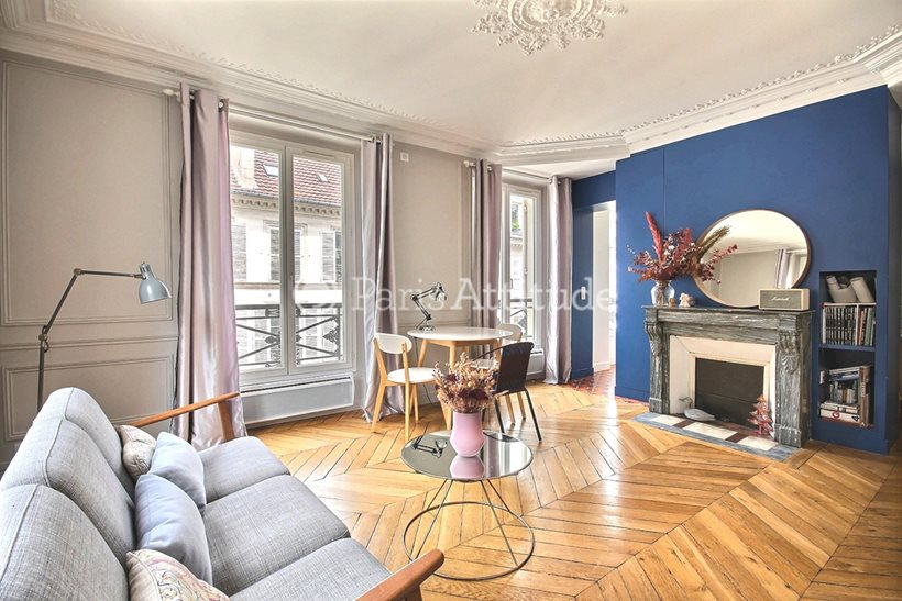 Rent furnished Apartment 2 Bedrooms 53m² rue Blanche, 75009 Paris
