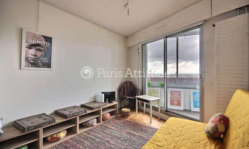 Location Appartement Studio 24m² avenue d Italie, 75013 Paris