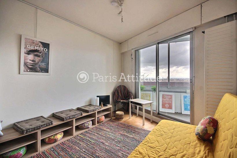Rent furnished Apartment Studio 24m² avenue d Italie, 75013 Paris