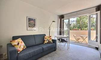 Rent Apartment Studio 22m² rue Rouelle, 15 Paris