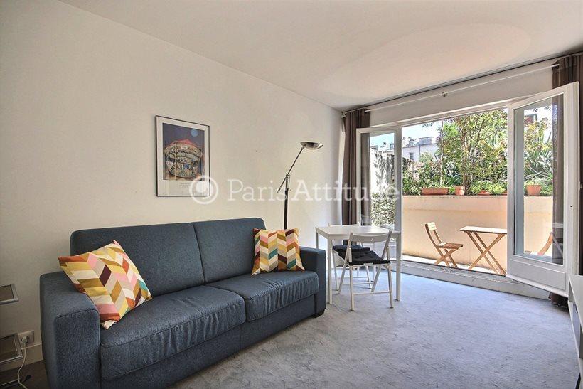 Rent furnished Apartment Studio 22m² rue Rouelle, 75015 Paris