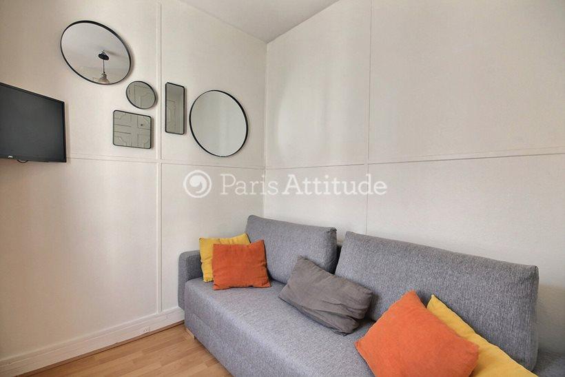 Rent furnished Apartment Studio 16m² rue des Rosiers, 75004 Paris