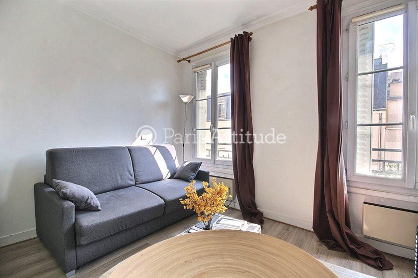 Rent furnished Apartment Studio 17m² rue des Poissoniers, 92200 Neuilly sur Seine