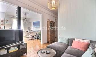 Rent Apartment 2 Bedrooms 60m² rue Lamarck, 18 Paris