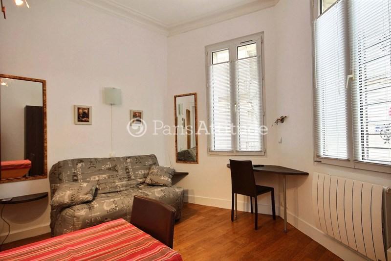 Rent Apartment Studio 17m² rue Maria Deraismes, 75017 Paris