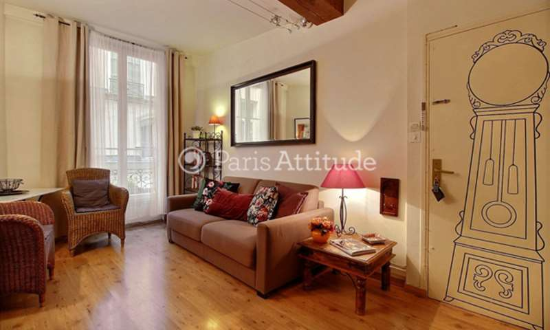 Rent Apartment 1 Bedroom 30m² rue Tiquetonne, 75002 Paris