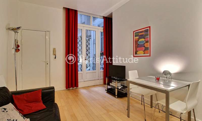 Rent Apartment 1 Bedroom 27m² rue des Lombards, 75001 Paris