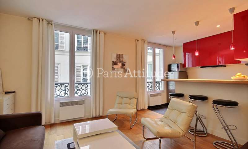 Rent Apartment 1 Bedroom 34m² rue de Mazagran, 75010 Paris
