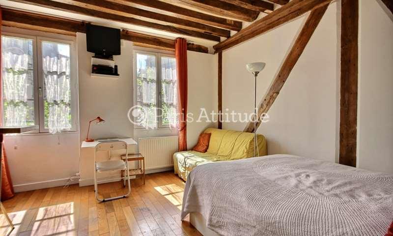 Rent Apartment Studio 20m² rue de l echaude, 6 Paris