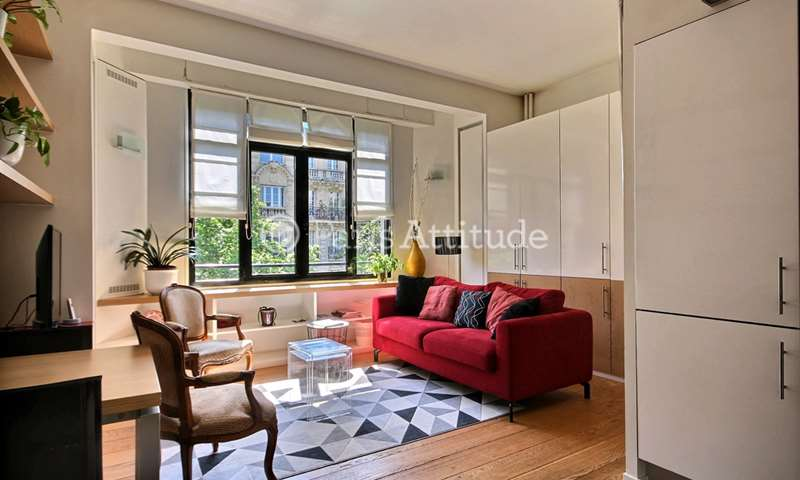 Rent Apartment 1 Bedroom 38m² avenue Niel, 75017 Paris