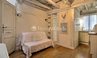 Rent Apartment Studio 20m² rue Saint Louis en l Île, 4 Paris