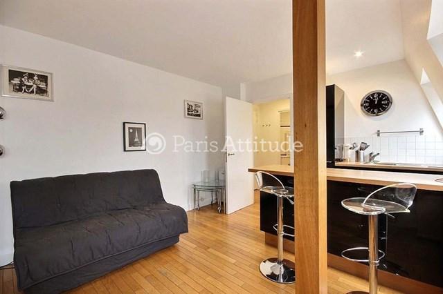 Rent Apartment Studio 24m² place des Ternes, 75017 Paris