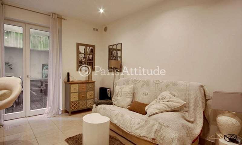 Rent Apartment Studio 20m² rue Custine, 18 Paris