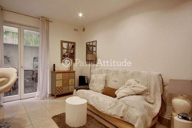 Louer Appartement meublé Studio 20m² rue Custine, 75018 Paris