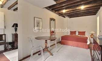 Rent Apartment Studio 20m² rue Pierre Lescot, 1 Paris