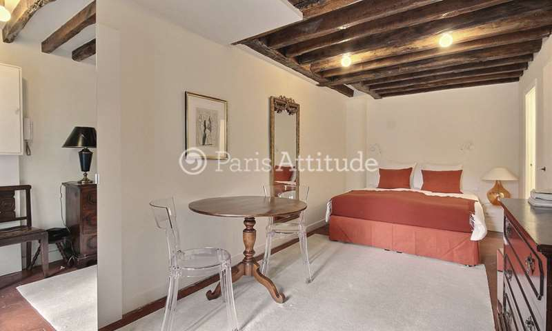 Rent Apartment Studio 20m² rue Pierre Lescot, 1 Paris