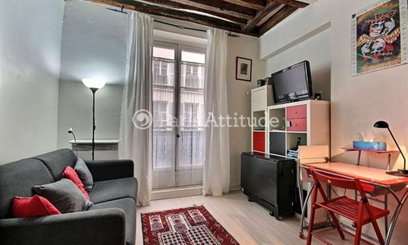 Rent Apartment Studio 20m² rue de Crussol, 75011 Paris