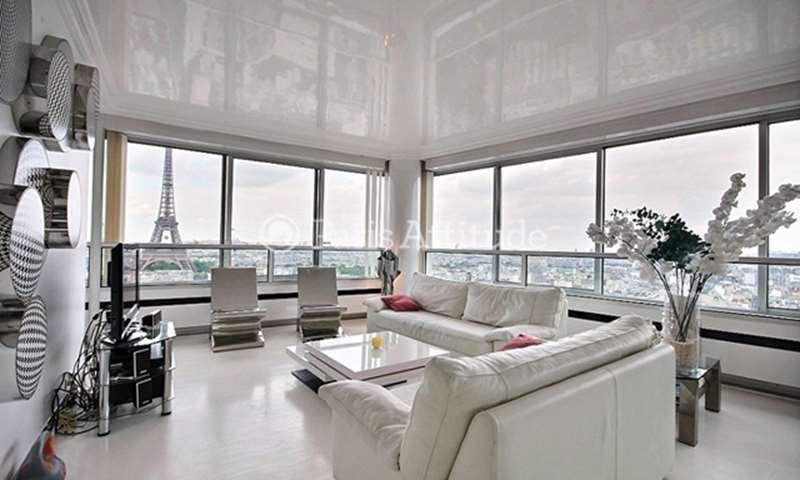 Location Appartement 2 Chambres 103m² quai de Grenelle, 15 Paris
