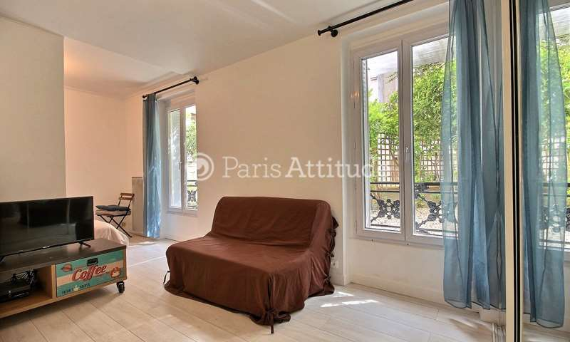 Location Appartement Alcove Studio 28m² rue de la Pompe, 16 Paris