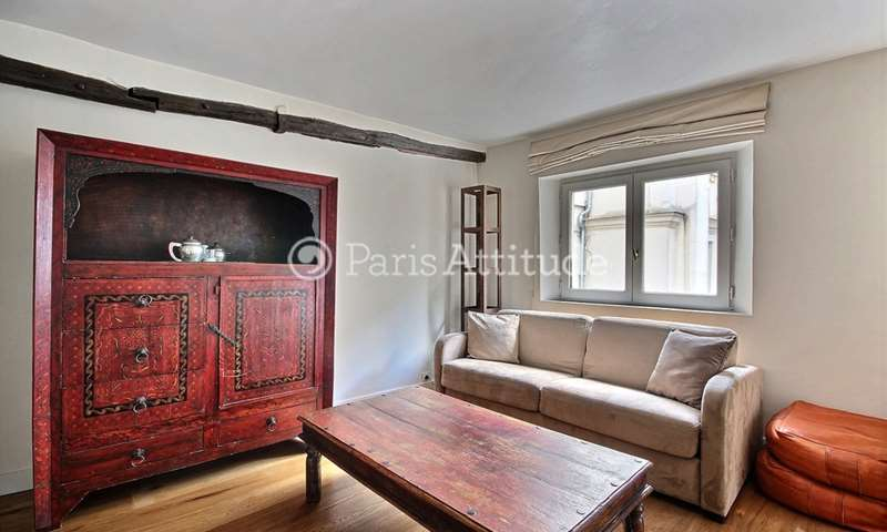 Rent Apartment 1 Bedroom 38m² rue du Roi de Sicile, 75004 Paris