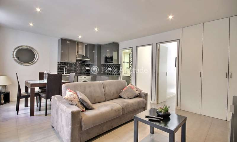 Rent Apartment 2 Bedroom 46m² rue des Rosiers, 75004 Paris