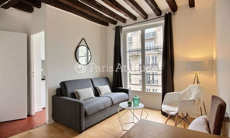 Rent Apartment Studio 22m² rue de Bretagne, 3 Paris