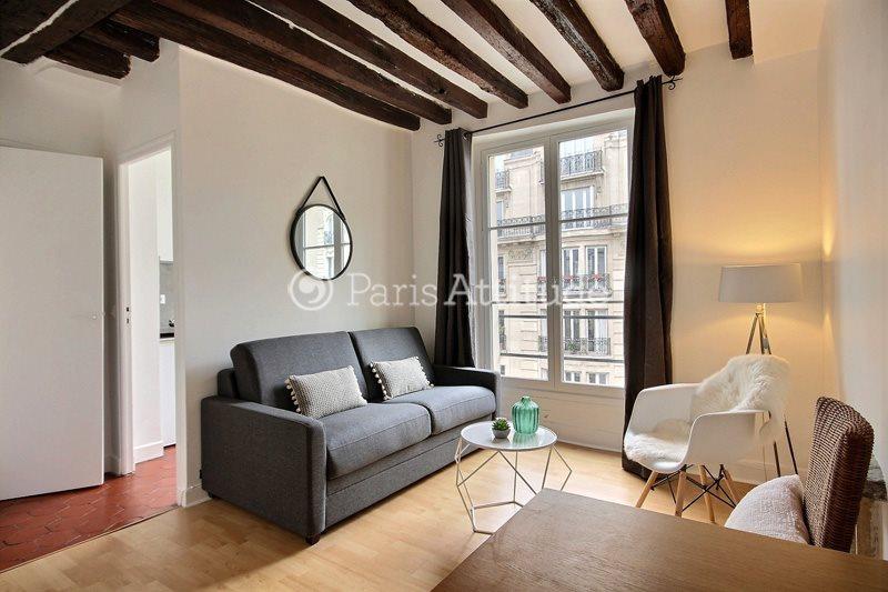 Louer Appartement meublé Studio 22m² rue de Bretagne, 75003 Paris