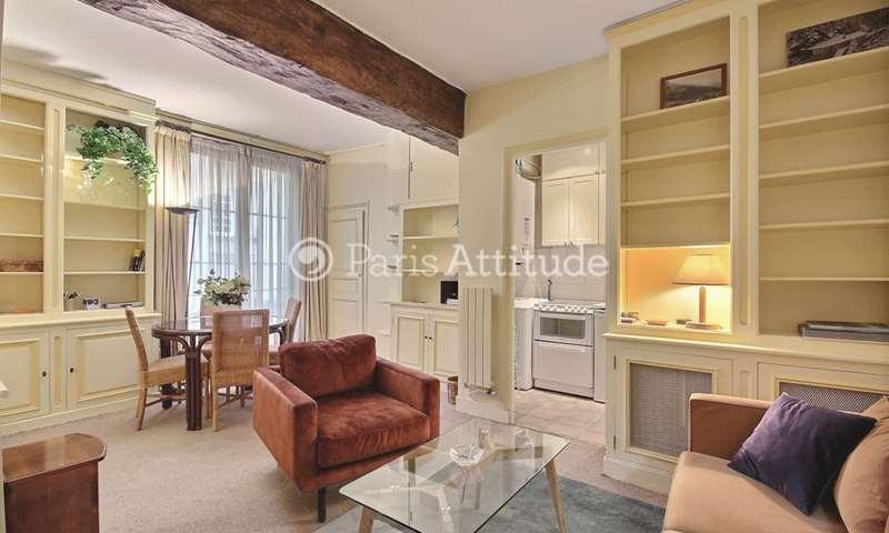 Location Appartement 1 Chambre 45m² rue Saint Louis en l Île, 75004 Paris