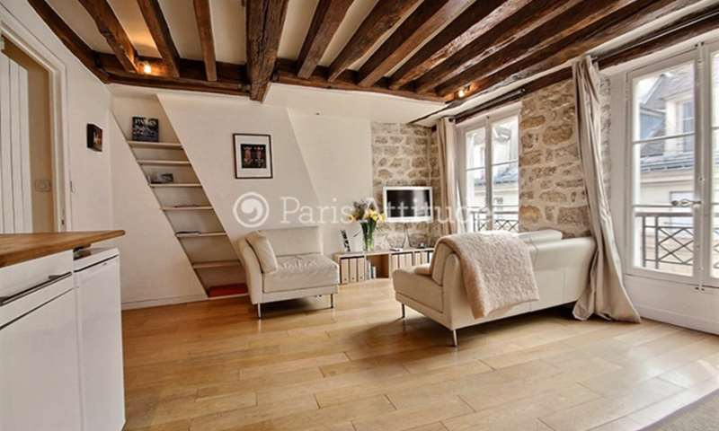 Rent Apartment 1 Bedroom 37m² rue de Seine, 75006 Paris