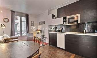Rent Apartment 1 Bedroom 29m² rue Popincourt, 11 Paris
