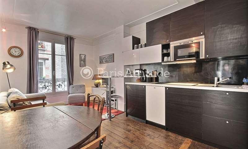 Rent Apartment 1 Bedroom 32m² rue Popincourt, 11 Paris
