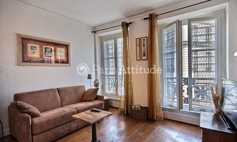 Rent Apartment 1 Bedroom 37m² rue Montmartre, 2 Paris