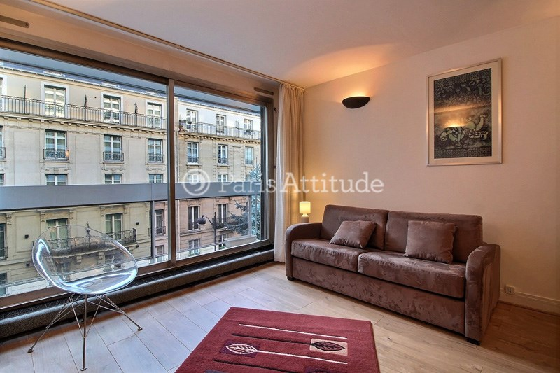 Rent Apartment Studio 34m² rue des Sablons, 75016 Paris