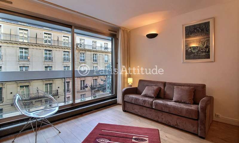 Rent Apartment Studio 34m² rue des Sablons, 16 Paris