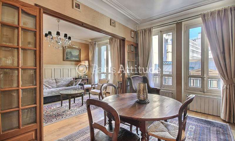 Rent Duplex 1 Bedroom 61m² rue Cortambert, 16 Paris