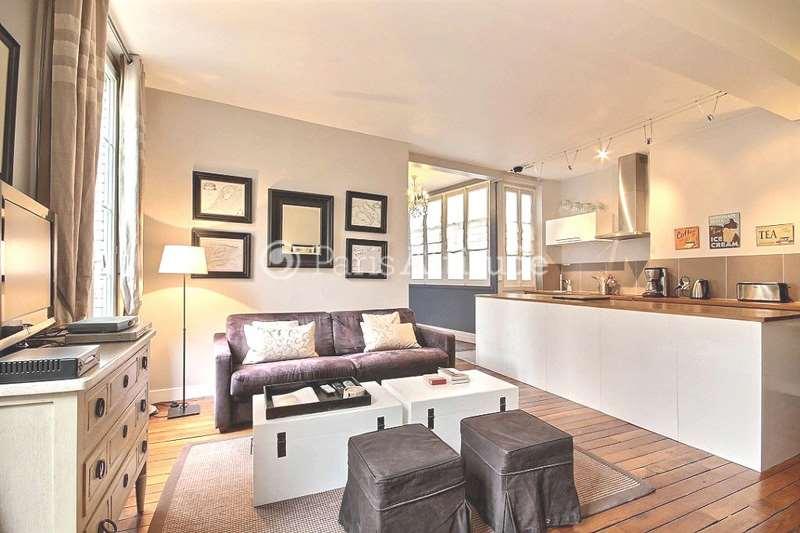 Rent furnished Apartment 2 Bedrooms 75m² rue du Roi de Sicile, 75004 Paris