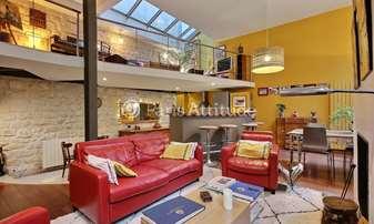 Rent Loft 3 Bedrooms 150m² rue du Buisson Saint Louis, 10 Paris
