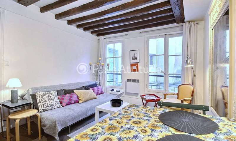 Rent Apartment 1 Bedroom 30m² rue Saint Denis, 75001 Paris