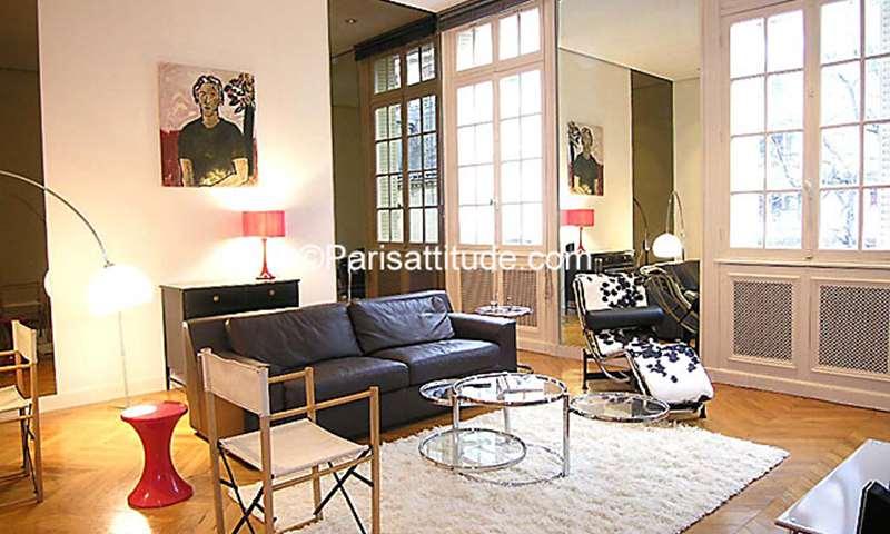 Rent Apartment 1 Bedroom 50m² rue des Belles Feuilles, 75016 Paris