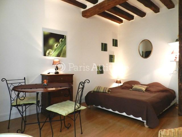Rent Apartment Studio 25m² rue Vieille du Temple, 75004 Paris